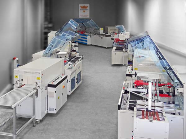 Zinopac Packaging Machines - Showroom